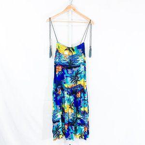 ONETEASPOON Hawaiian Slip Dress